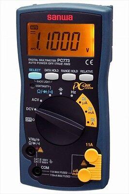 Sanwa Electric Digital Multi Meter Pc-773 Electrical Test Equipment Japan