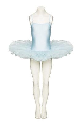 Mädchen Hellblau Frozen Elsa Kostüm Tutu Outfit Kostüm Alle Größen von (Elsa Von Frozen Kostüm)