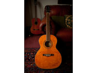 Fender GD0300 acoustic - great condition lovely to play - unusual beautiful finish - with hard case