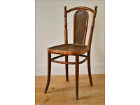 vintage bentwood chair Kohn like Thonet made in Austria antique dining kitchen patio bar