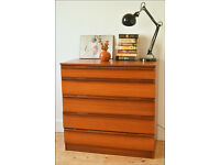 vintage chest of drawers teak mid century danish design Avalon