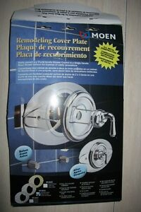 BRAND NEW! Moen Remolding Cover Plate (Brushed Nickel)
