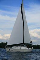 location de voilier au lac Champlain