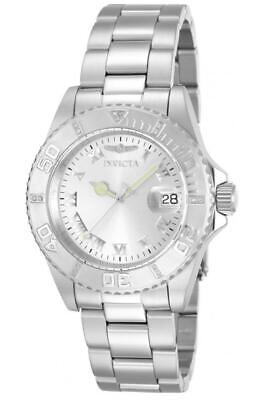 Invicta Women's 12819 Pro Diver Silver Dial Diamond Accented