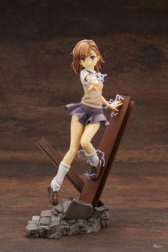 Anime A Certain Magical Index III Misaka Mikoto 1//7 Scale PVC Figure Toy No Box