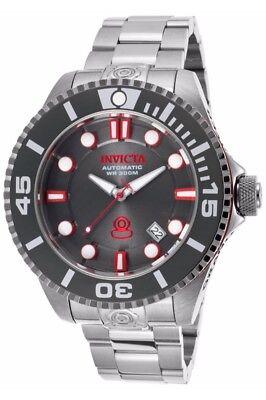 New Mens Invicta 19802 Grand Diver Gen II Automatic Steel Bracelet Watch