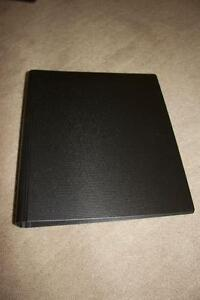 """Portfolio/Collector's Binder - Holds 8.5""""X11"""" Pages"""