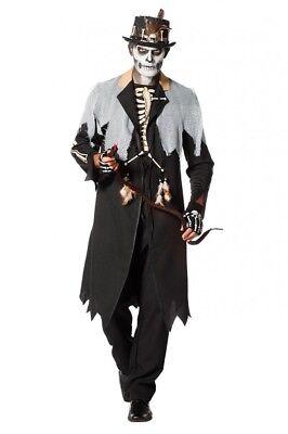 Voodoo King Herren Kostüm Priester Medizinmann Regenmacher Schamane Witch (Schamanen Kostüme)