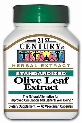 21St Century Olive Leaf Extract 60 Pills