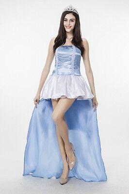 Damen-Kostüm Midnight Prinzess Gr. XS/S Prinzessin Cinderella Märchen Frozen - Frozen Kostüm S