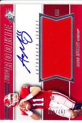 Used, aaron murray rc rookie draft auto jersey patch georgia uga dawgs college #/425 for sale  Jacksonville