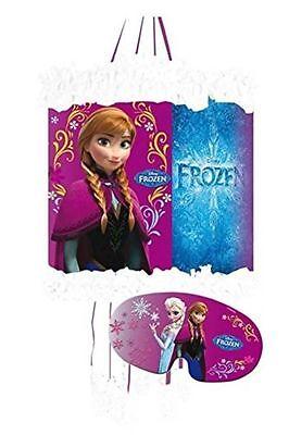 Disney Frozen Pull-String Pinata & Augenbinde - Kinderparty Spiel 395-808 - Frozen Piñatas