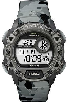 """Timex TW4B00600, Men's """"Expedition"""" Watch, Shock Resistant, Indiglo, TW4B006009J"""