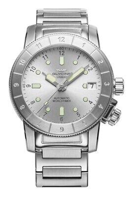 Glycine GL0180 Women's Airwoman 36 Double Twelve Automatic Watch