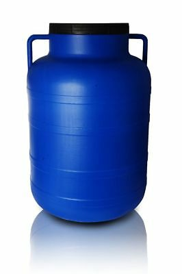 Plastic barrel 80L Water Storage Container Drum Keg Food Grade Tank Screw Lid