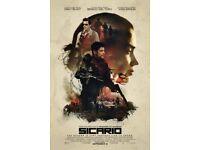 Sicario Blu-ray Disc (like new, in case)