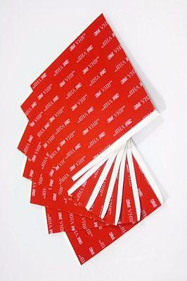 3m 5962 Black Vhb Double Stick Foam Tape 10cm X 10cm X 1.6mm 10 Pieces