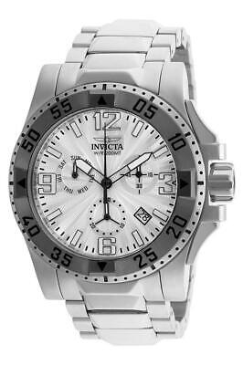 Invicta Excursion 23901 Men's Round Chronograph Day Date Guilloche Analog Watch