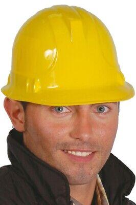 uherr Feuerwehrmann Helm Kostüm Kleid Outfit Hut (Gelb Bau Hut)