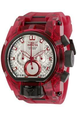Invicta Men's 52mm Bolt Zeus Magnum Anatomic Chrono Dual Movement Watch 29996