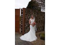 Beautiful Augusta Jones Wedding Dress