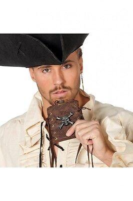 Flachmann mit Totenschädel Piraten Kostüm Schnapsflasche Seeräuber Zubehör