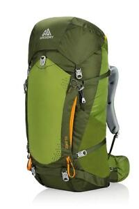 NEW Gregory Mountain Products Zulu 55 Liter Men's Backpack, Moss Green, Medium Condition: New
