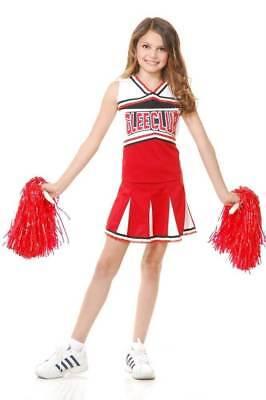 Charades Glee Club Cheerleader Mädchen Kinder Halloween Kostüm