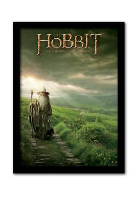 f Fertigbild Gerahmt 32,5x45x1,2 cm (Hobbit 2 Gandalf)