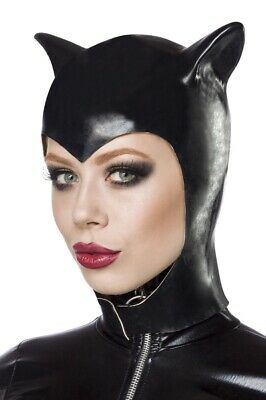 Cappello travestimento originale nero orecchie carnevale cat woman - Original Catwoman Kostüme