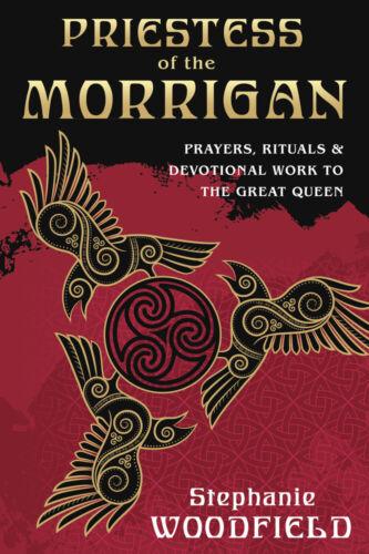 PRIESTESS OF THE MORRIGAN BOOK Prayers Rituals Celtic Morigan pagan witch craft