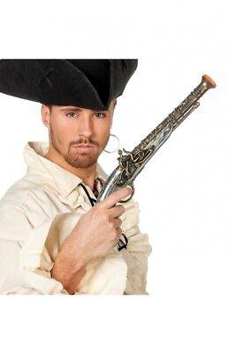 Pistole in Antik-Optik für Piraten-Kostüm Fluch der Karibik Flinte Donnerbüchse
