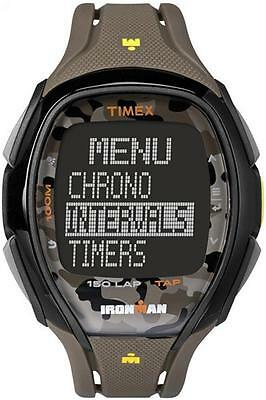 "Timex TW5M01100,  Men's ""Ironman"" 150-Lap Watch, Alarm, Indiglo, Tap Screen"
