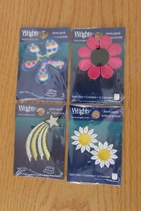 4 packages of Wright's appliques