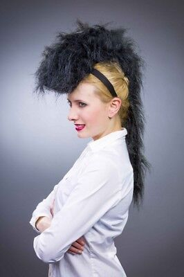 Kopfbügel mit schwarzer Mähne Pferd Zebra Kostüm Zubehör - Kopf Pferd Kostüm