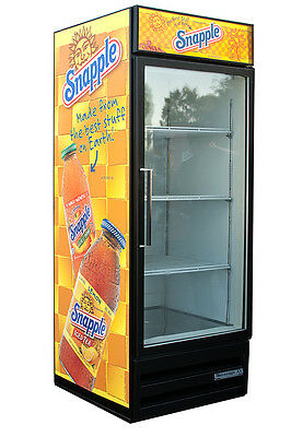 Beverage Air Mt27 Snapple Glass Door Refrigerator Soda