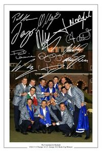 EUROPE-2012-RYDER-CUP-WINNING-TEAM-SIGNED-AUTOGRAPH-PHOTO-PRINT