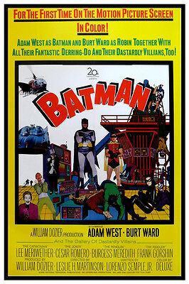 1966 BATMAN THE MOVIE -  MOVIE POSTER 12