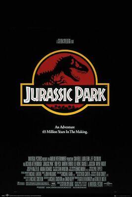JURASSIC PARK - CLASSIC MOVIE POSTER 24x36 - 4842