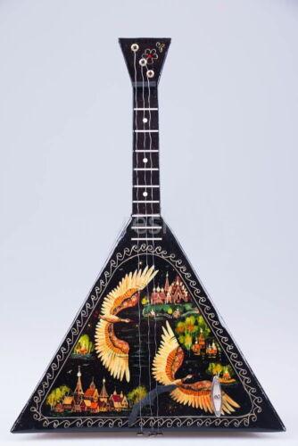 Balalaika Russian North. Hand made in Russia. 24cm Wood Souvenir Gift