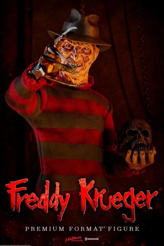 Sideshow Freddy Krueger Nightmare on Elm Street Premium Format Statue