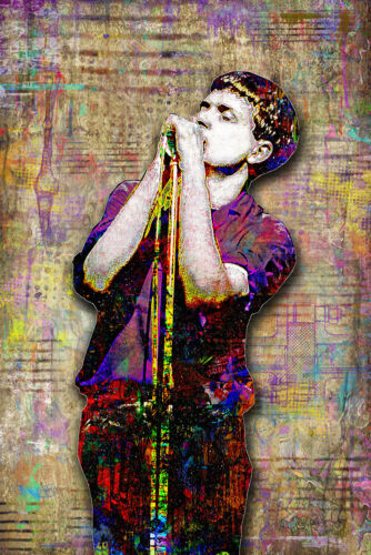 IAN CURTIS Of JOY DIVISION Tribute 20x30in Poster Pop Print Free Shipping US