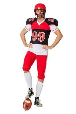 WIL - Herren Kostüm American Football Rugby Karneval Fasching