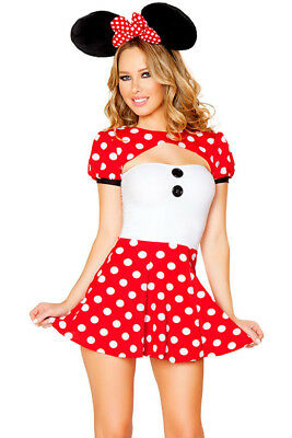 Adult Mini Mouse Costumes (Helloween Costume Mini Mouse Adult)
