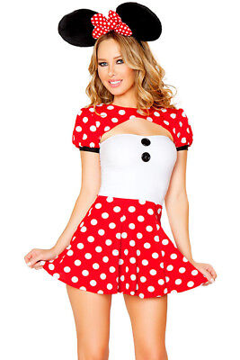 Helloween Costume Mini Mouse Adult NEW - Adult Mini Mouse
