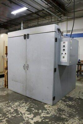 72 X 72 X 72 X 500 Degrees F Jpw St216 Electric Curing Oven Kiln Furnance