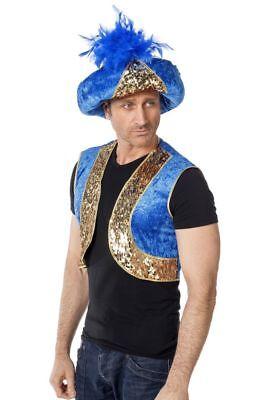 WIL - Kostüm Zubehör Turban zum Orient Kalif Karneval Fasching - Turban Kostüm