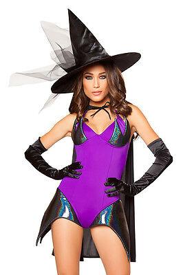 Hexen Kostüm Hexe Halloween Sexy Witch komplett Fasching Karneval - USA Import