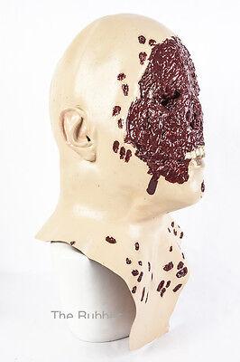 ber Maske Latex Kostüm Halloween Zombie Blutiges Blood (Halloween Blutiges Gesicht)