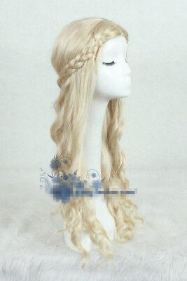 Maleficent Aurora Princess Sleeping Beauty Perücke Wig Cosplay Kostüme Anime Neu